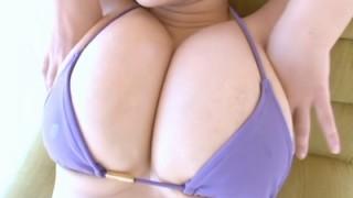 松金洋子 ボリューム満点の爆乳を揉まれるマッサージが凄エロ